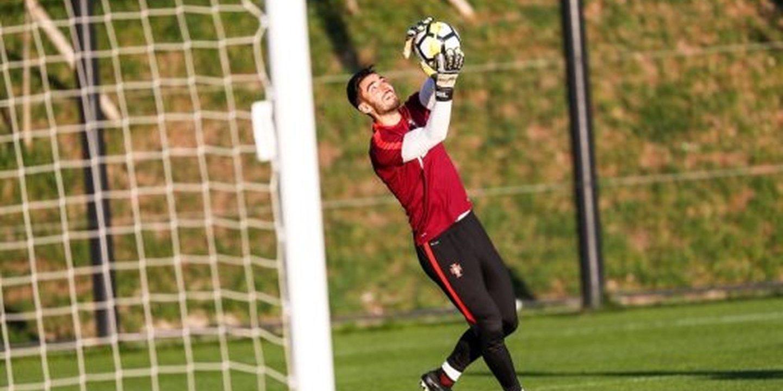 "André Ferreira, guarda-redes dos sub-21: ""Cresci a tentar imitar Buffon"""