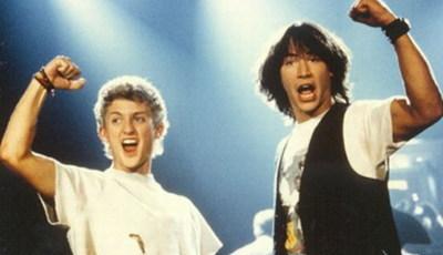 """Lembra-se dos """"porreiros"""" Bill e Ted? Keanu Reeves e Alex Winter anunciam terceiro filme"""