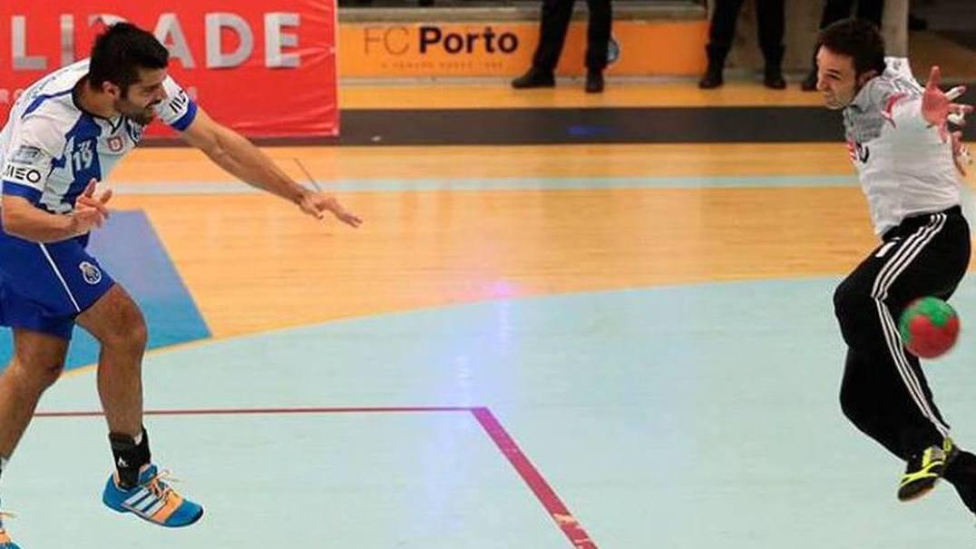 FC Porto em andebol perde na Alemanha por 26-23 e deixa tudo em aberto na Taça EHF