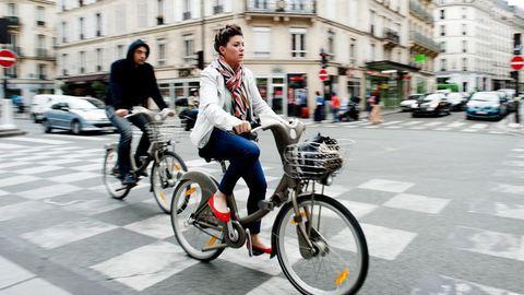 Eles querem ter o direito a pedalar em segurança