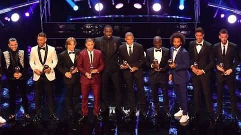 The Best: Real Madrid e França dominam escolhas dos prémios FIFA