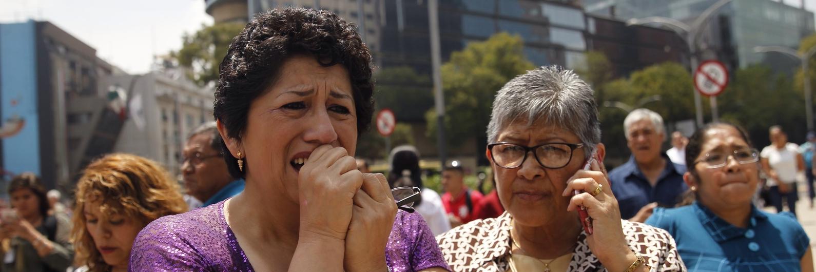 Sismo no México. Número de mortos aumenta para 134 e as buscas continuam