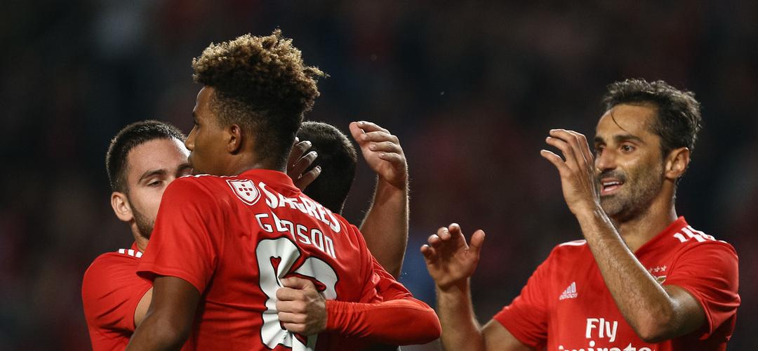 Sertanense 0-3 Benfica: Rui Vitória faz o primeiro 'check' na Taça de Portugal