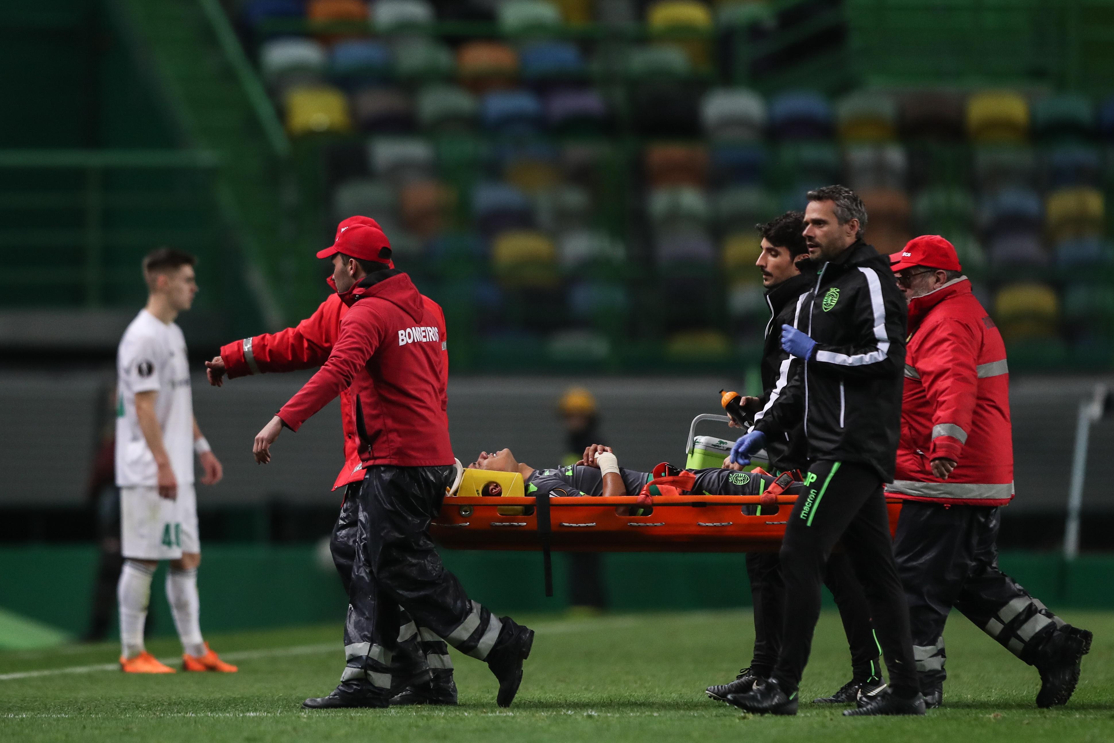 Montero sofreu lesão no ligamento do tornozelo direito e será reavaliado