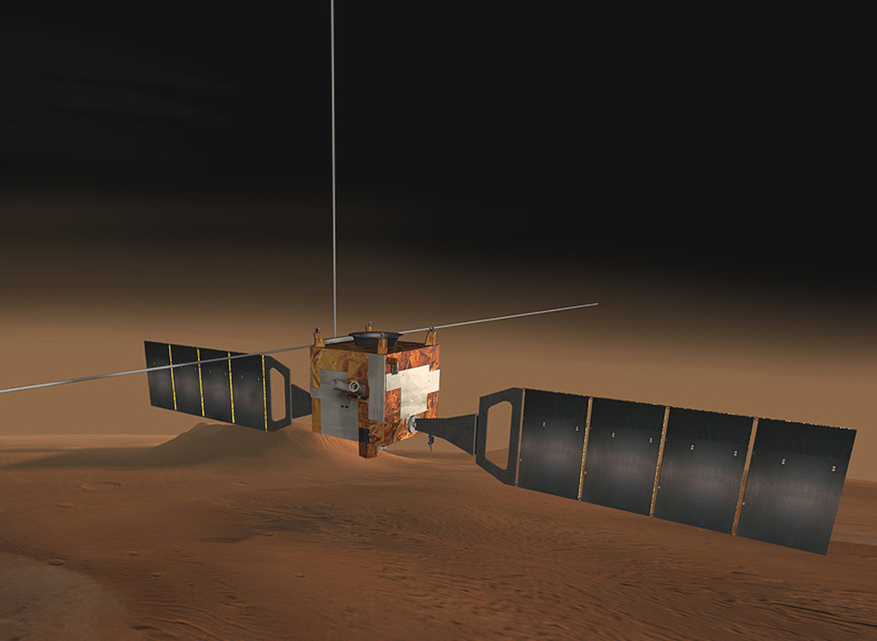 15 anos após início da missão a Marte, o Mars Express recebe importante atualização