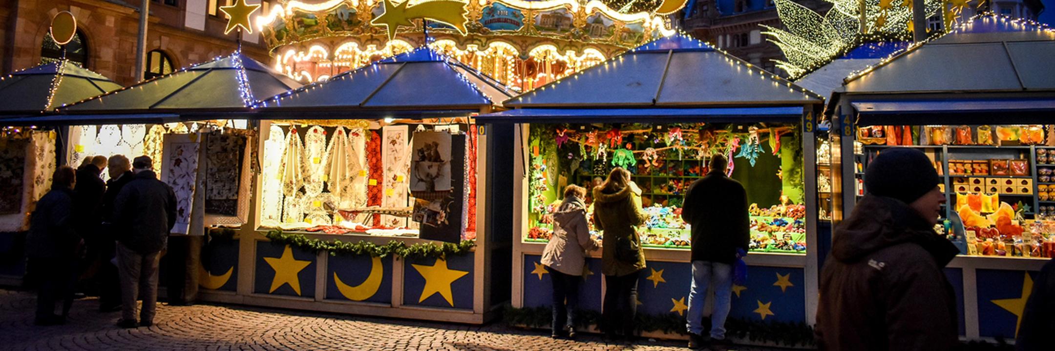 Aproveite a magia do Natal em Frankfurt
