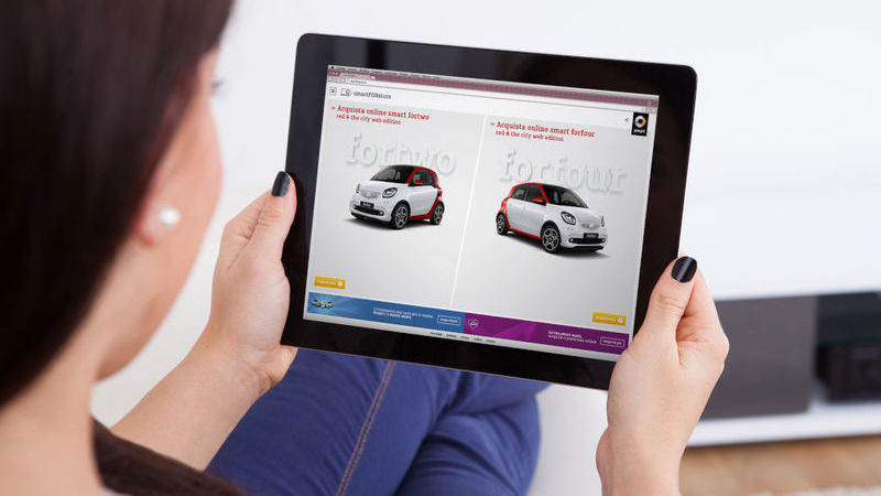 Um terço dos consumidores está disposto a comprar carro on-line