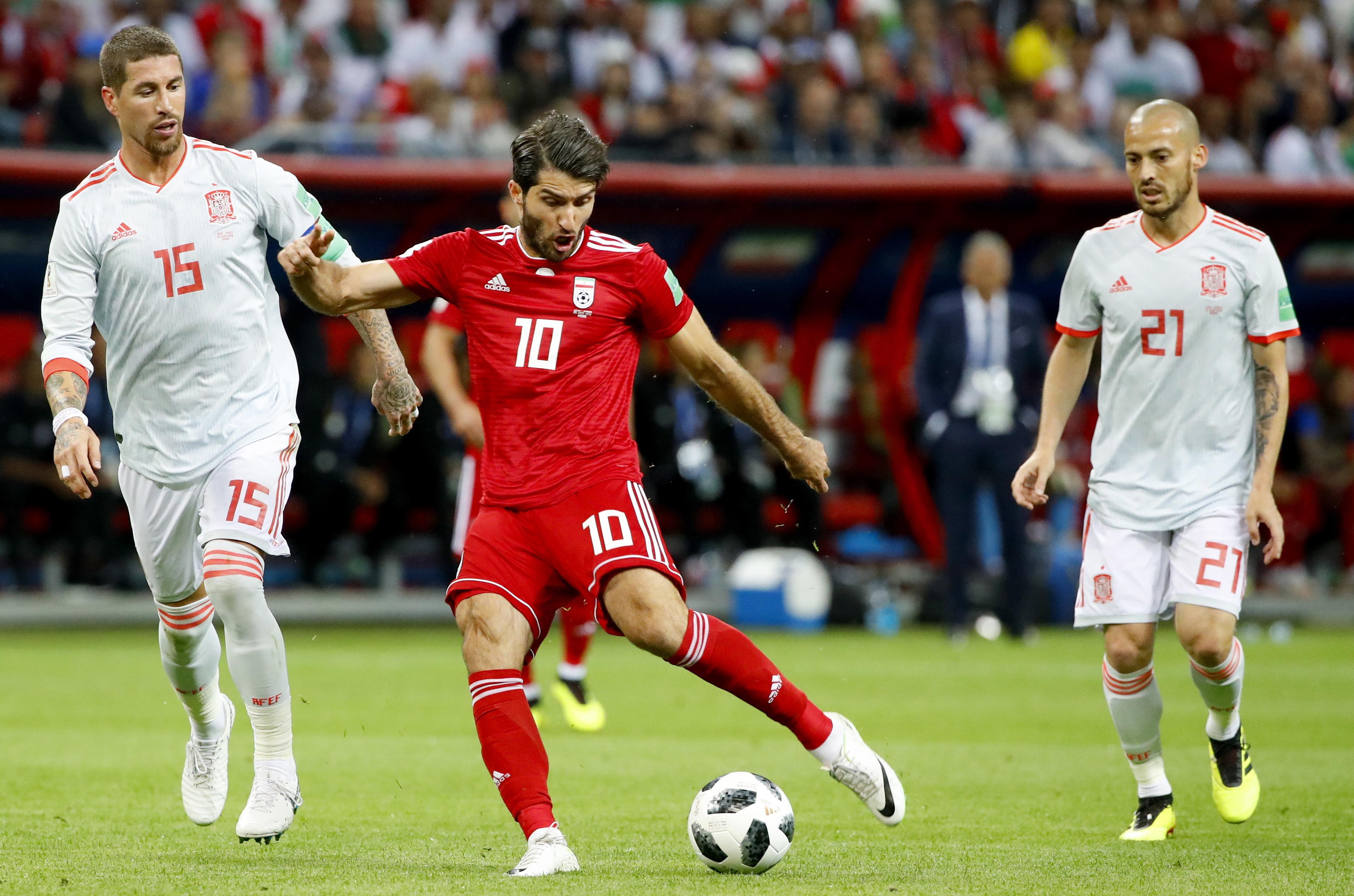 Mundial2018: Espanha bate Irão, com golo de Diego Costa