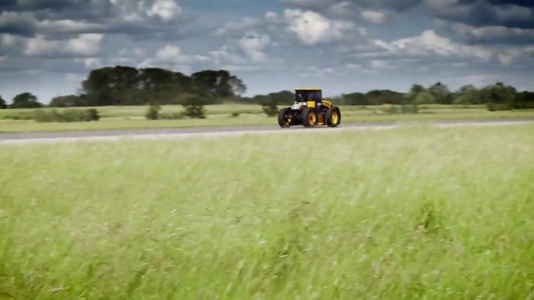 Será este o tractor mais rápido do mundo?