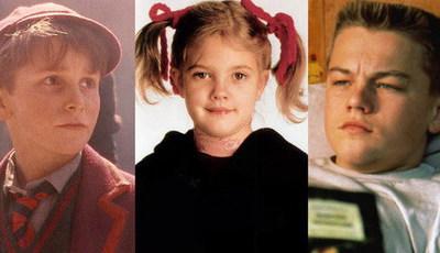 Estrelas de cinema infantis: como cresceram!