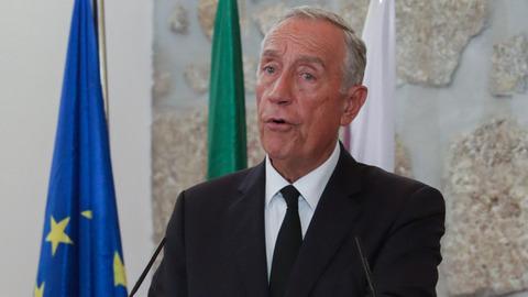 """Marcelo: """"Esperemos que a Assembleia diga se quer ou não manter este Governo"""""""