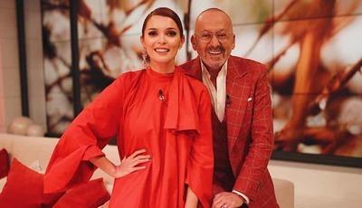 Goucha e Maria Cerqueira Gomes divertem-se para lá das câmaras