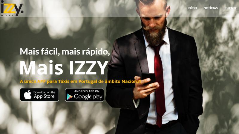 IzzyMove: Chegou a app dos taxistas para concorrer com a Uber