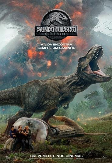 """""""Mundo Jurássico: Reino Caído"""": ganhe merchandising do filme"""