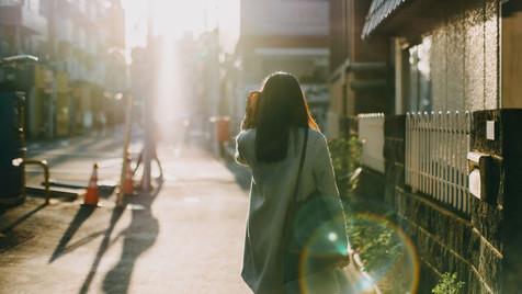 Sobre Andar Sozinha na Rua