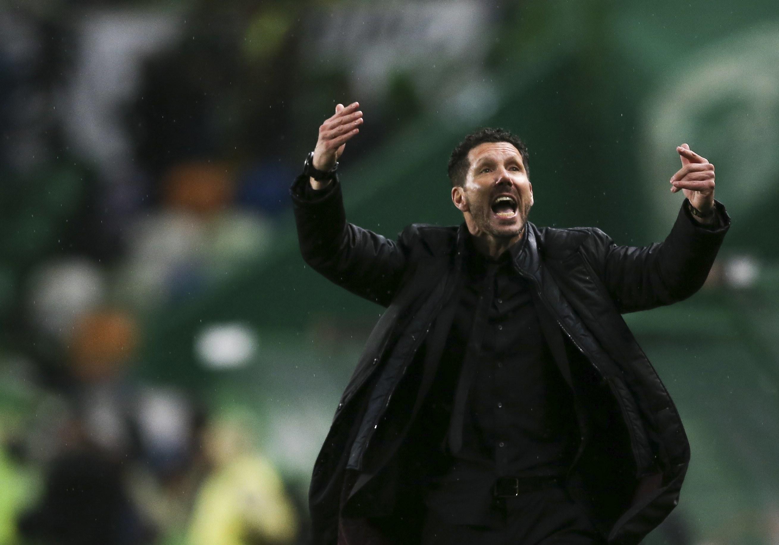 Atlético de Madrid perde em San Sebastián
