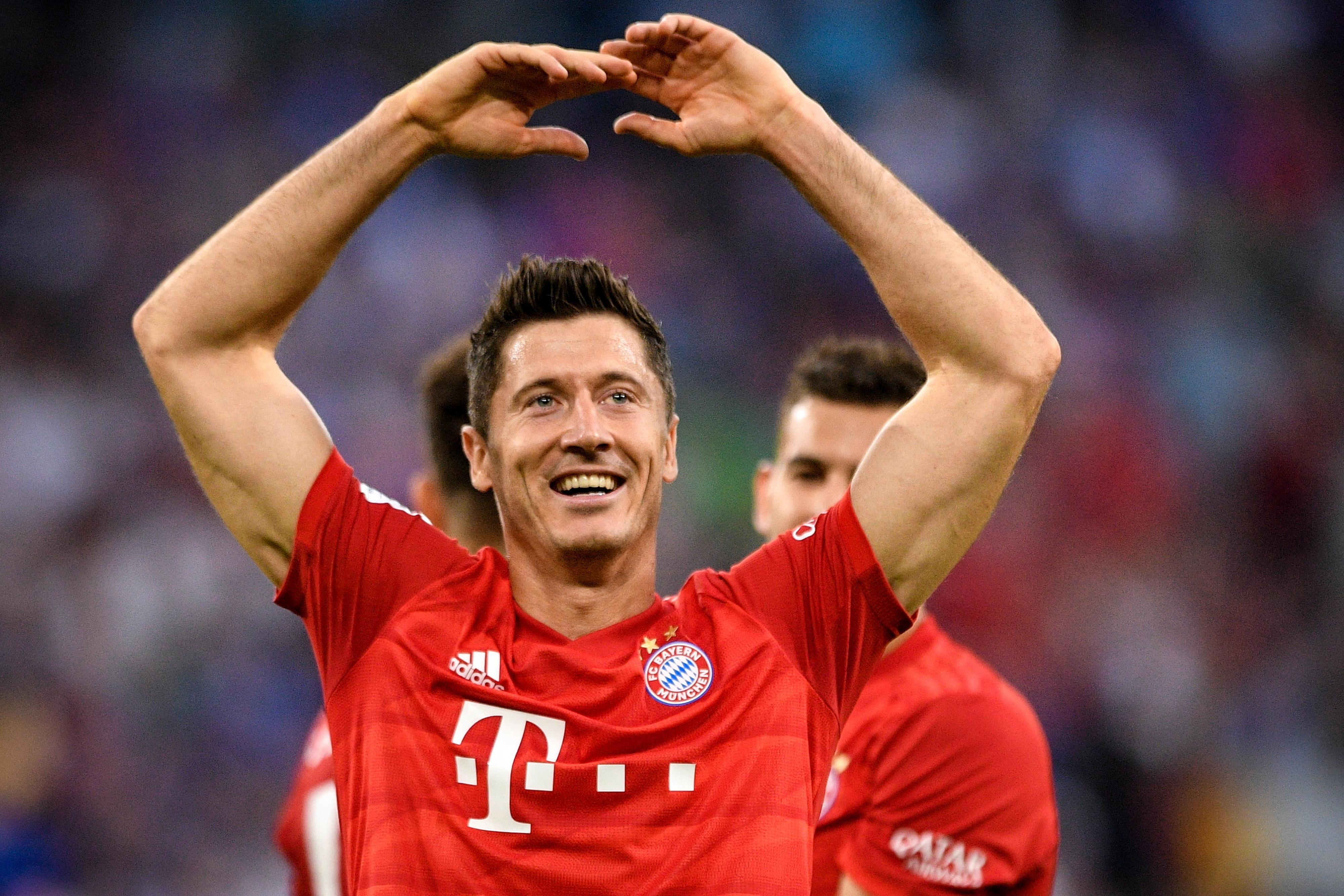 Hat-trick de Lewandowski dá primeira vitória ao Bayern no campeonato alemão