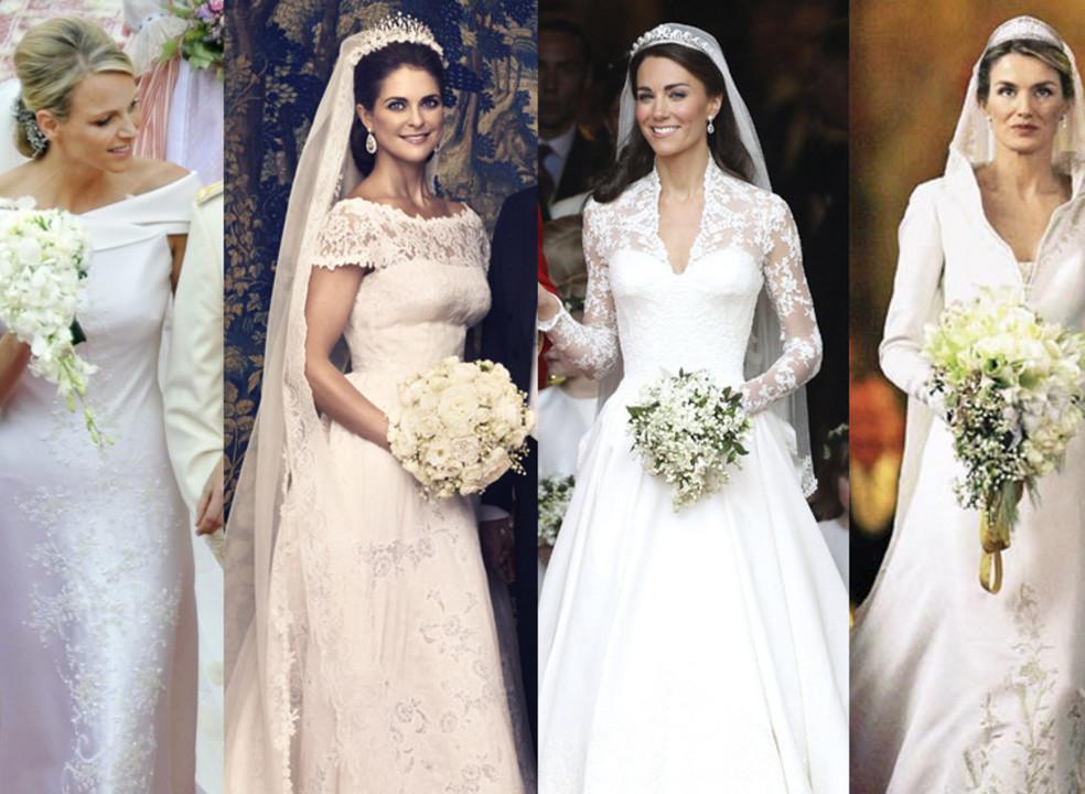 20 anos de casamentos reais: qual o seu vestido de noiva preferido?