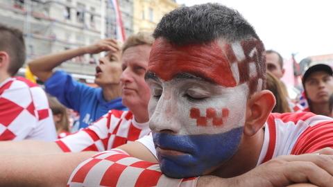 Das lágrimas croatas à euforia francesa: a final do Mundial vista por quem mais sofreu