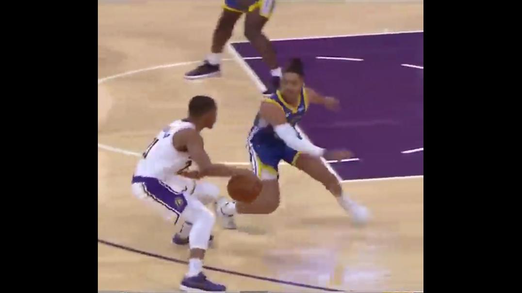 A NBA ainda vai na pré-época e já há jogadas como esta