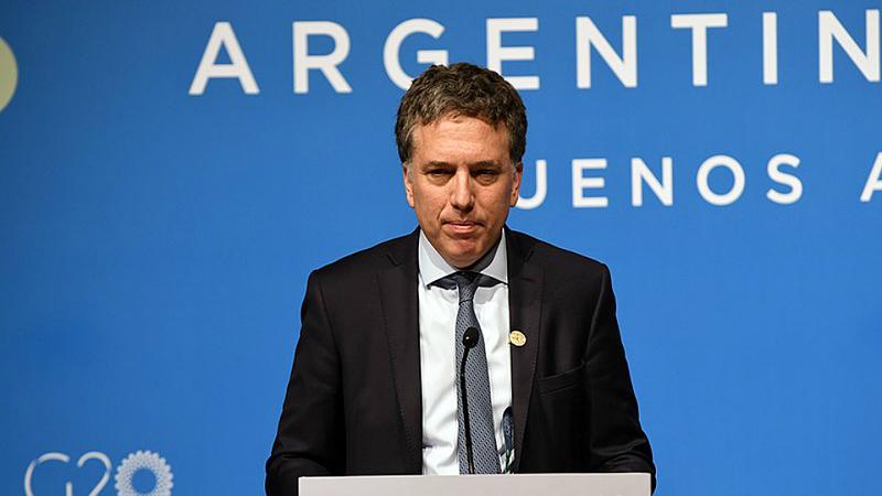 Argentina tem novo ministro das Finanças. Nicolás Dujovne sai do governo