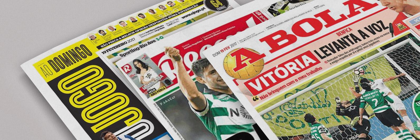 Revista de imprensa: São Patrício abençoa as manchetes