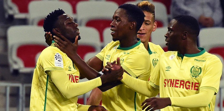 Nantes vence Guingamp e sobe ao terceiro lugar da Liga francesa