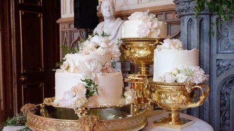 Os 500 ovos biológicos e todos os outros detalhes do bolo de Harry e Meghan