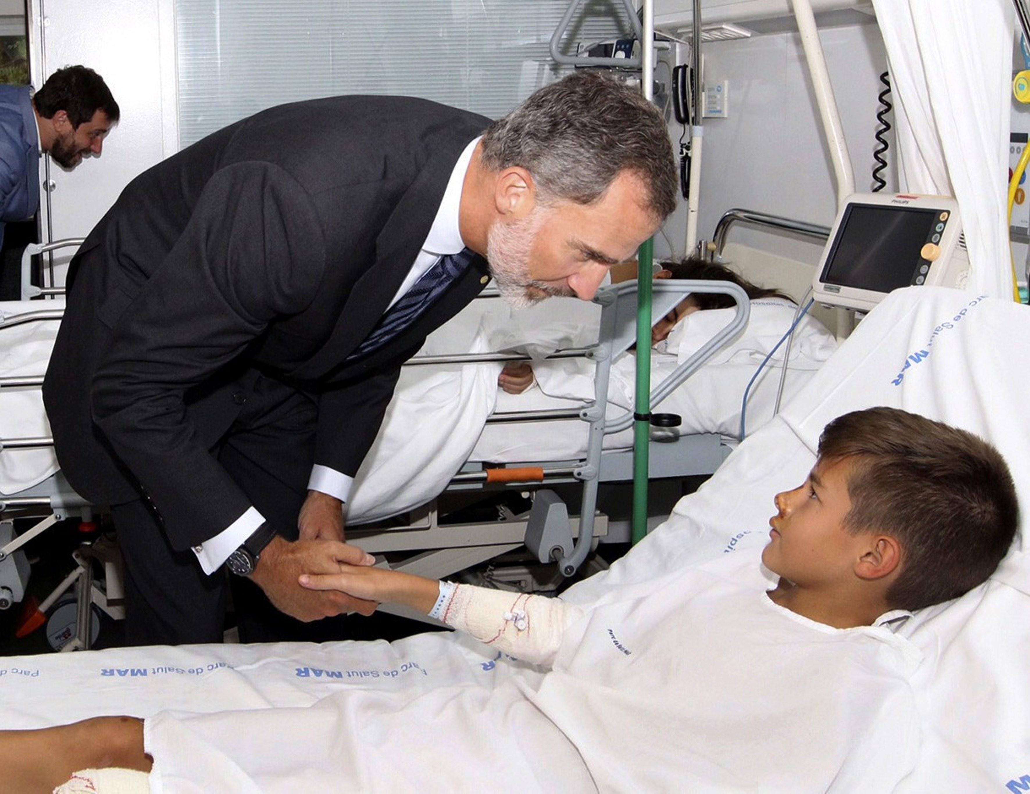 """Rei de Espanha: """"Não temos medo e não teremos nunca"""""""