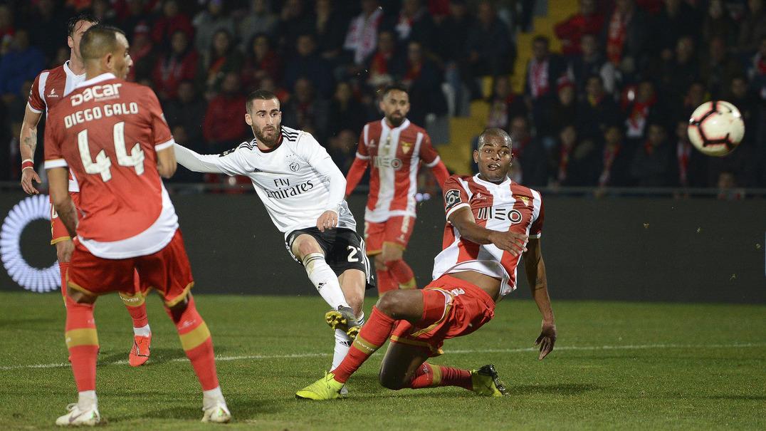 Liga (22ªJ): Resumo CD Aves 0-3 SL Benfica