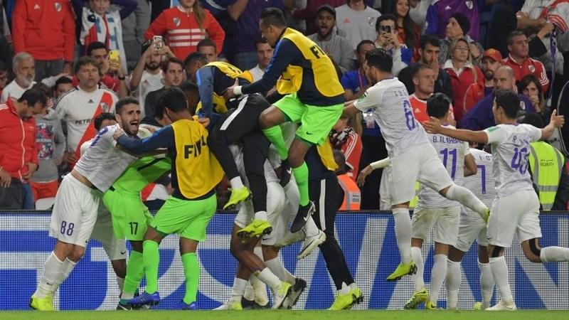 Supresa. Enzo Pérez do River Plate falha penálti e coloca Al-Ain do Qatar na final do Mundial de Clubes