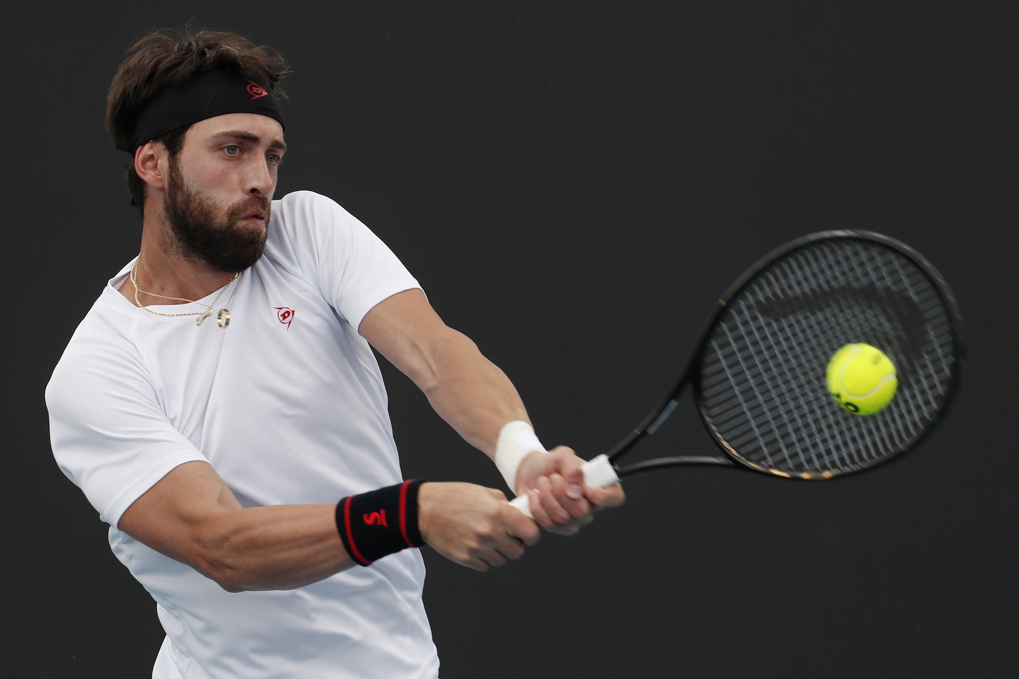 Tenista Nikoloz Basilashvili acusado de violência doméstica