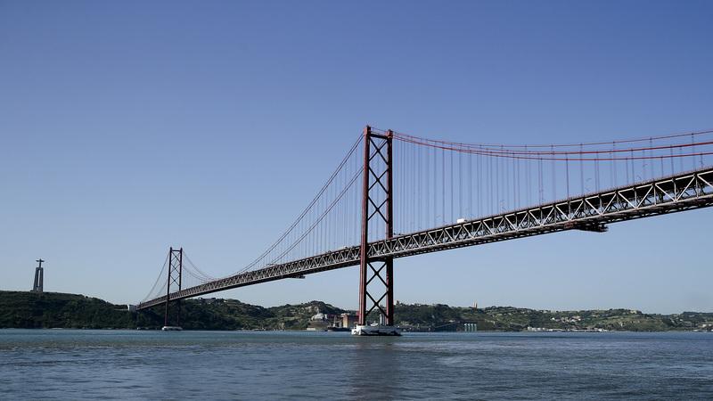 Obras na Ponte 25 de Abril começam esta quarta-feira