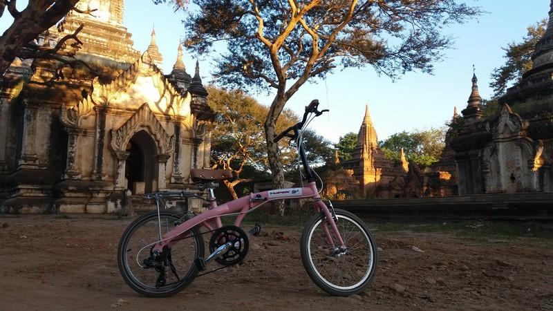 De bicicleta no Myanmar: um mês a pedalar numa bicicleta portuguesa