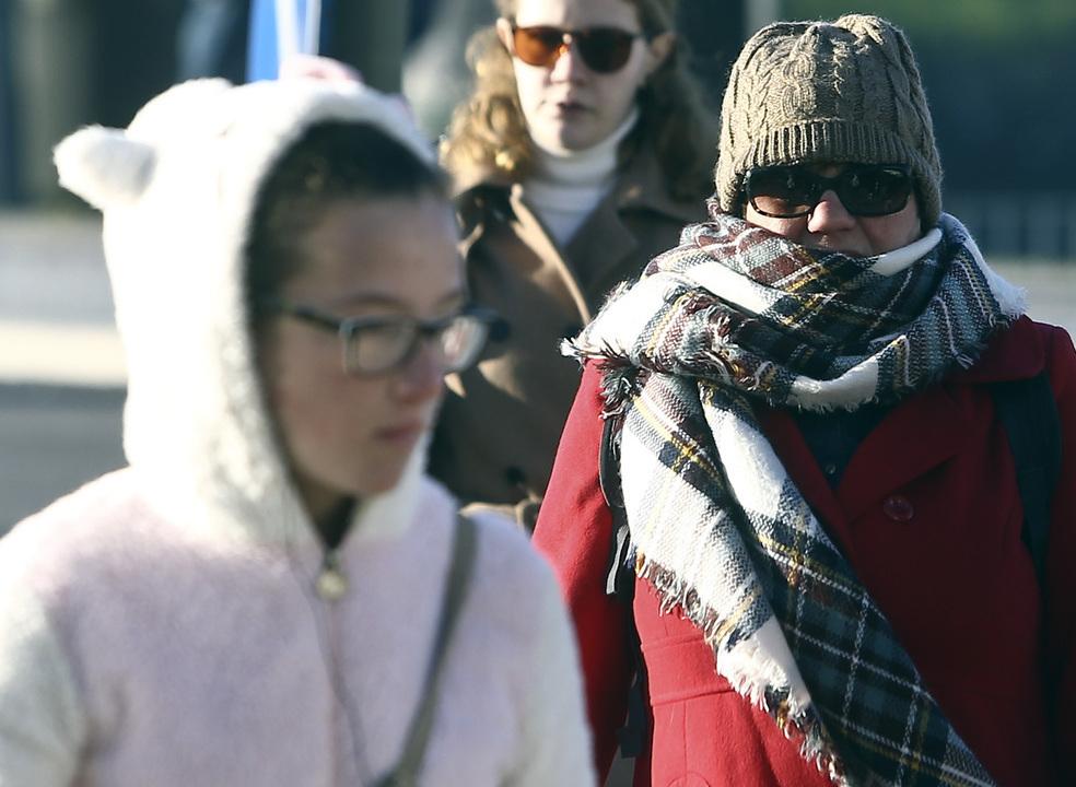 Temperaturas vão descer a partir da tarde de sexta-feira