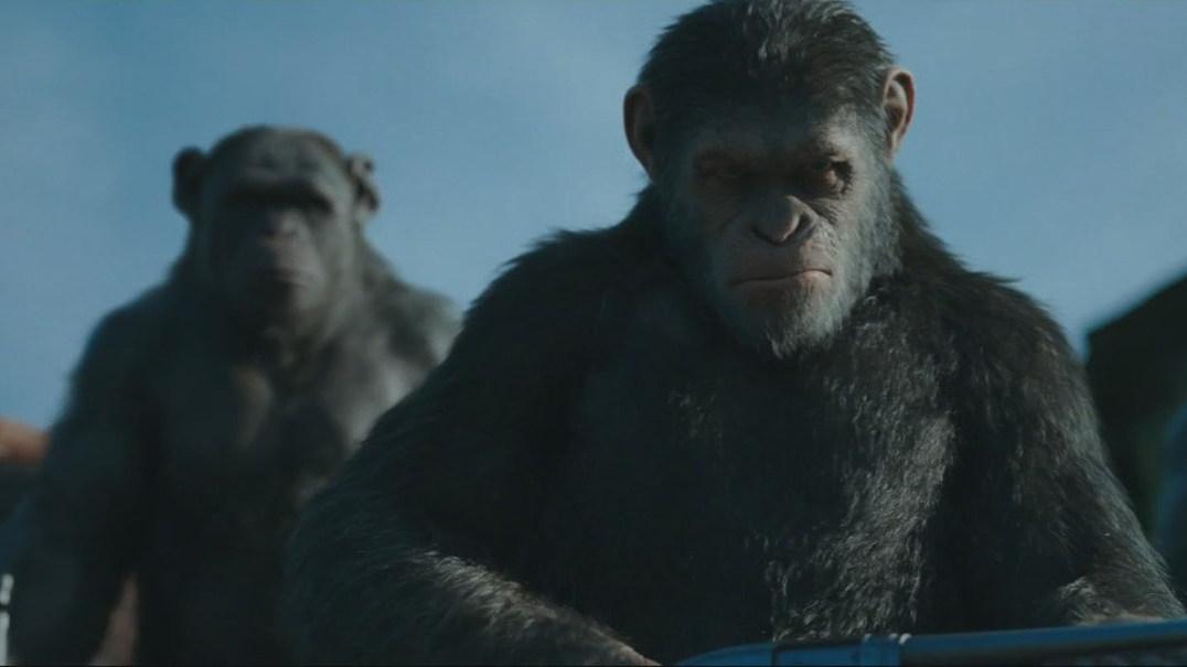 """""""Planeta dos Macacos"""": Trailer anuncia guerra final pelo domínio da Terra"""