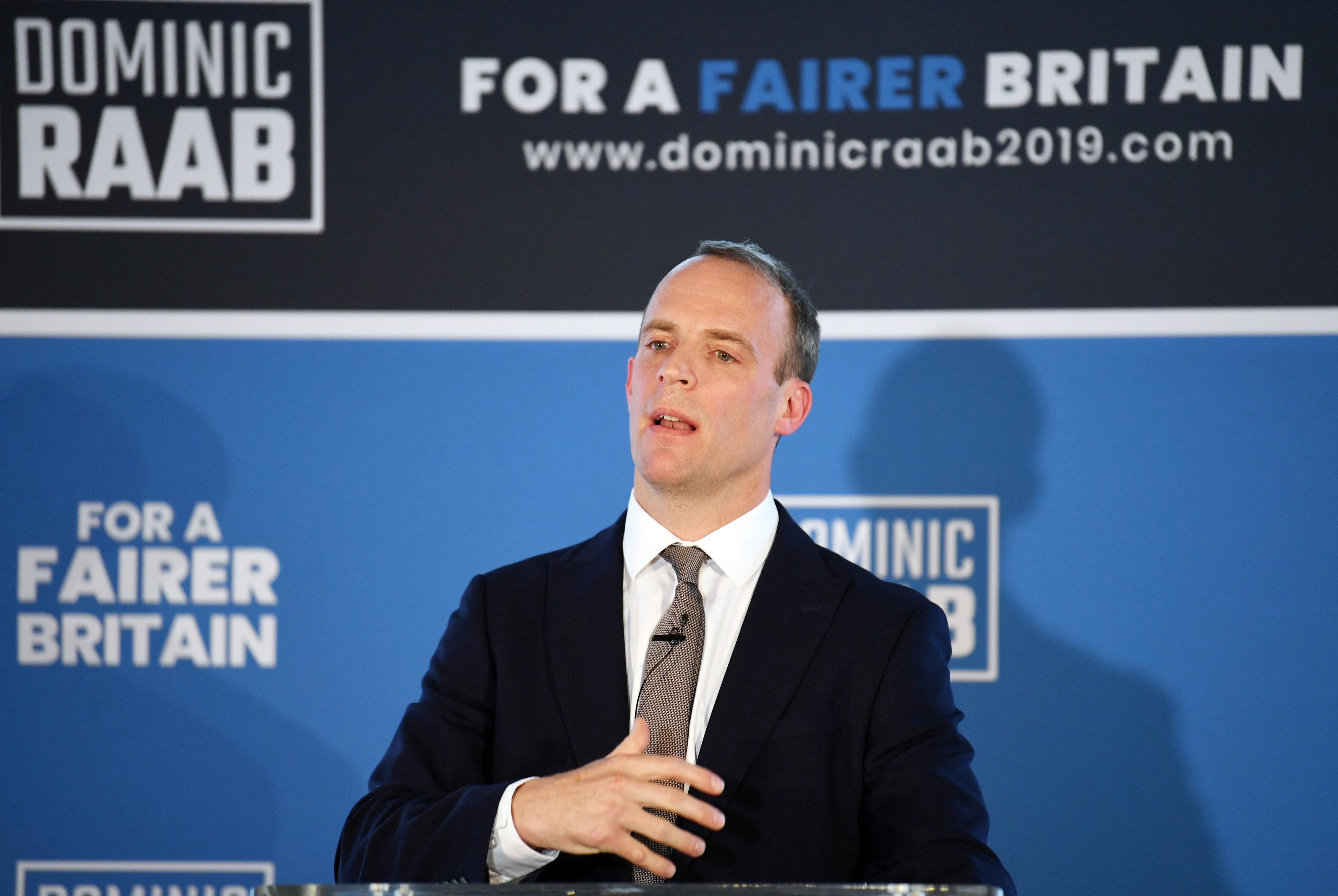 Ex-ministro para o 'Brexit' Dominic Raab eliminado da eleição para liderança conservadora