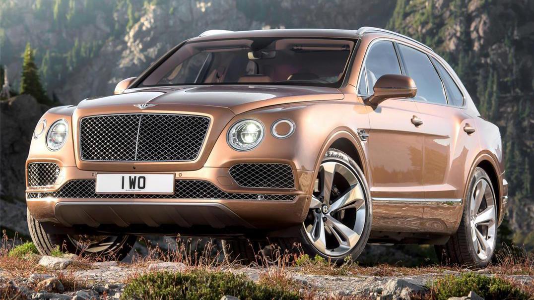 Ensaio do novo SUV Bentley Bentayga