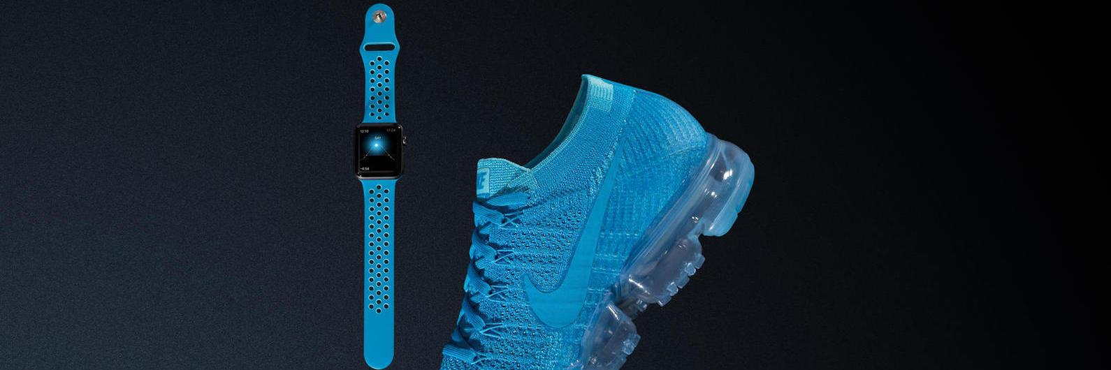 Nike lança pulseiras para o smartwatch da Apple com ténis a condizer