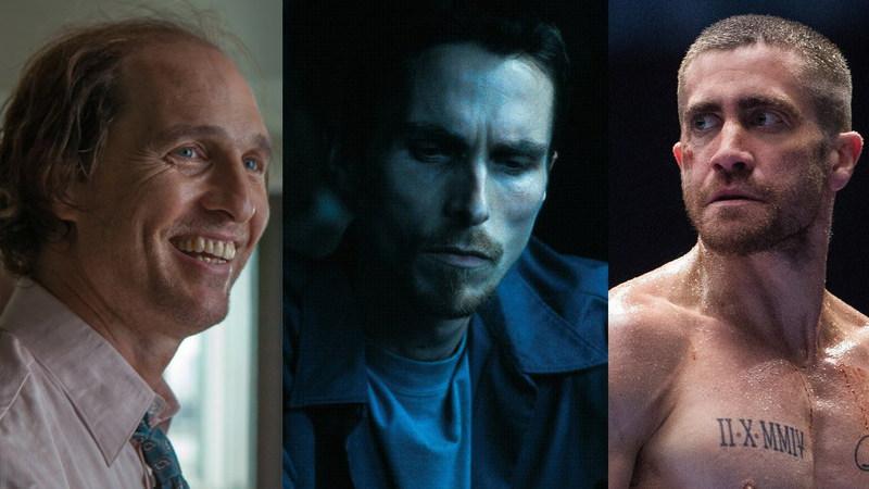 De McConaughey a Bale e Gyllenhaal: As transformações físicas mais inacreditáveis do cinema