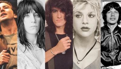 Quem as viu e quem as vê: para o bem ou para o mal, as estrelas do rock mudaram e muito