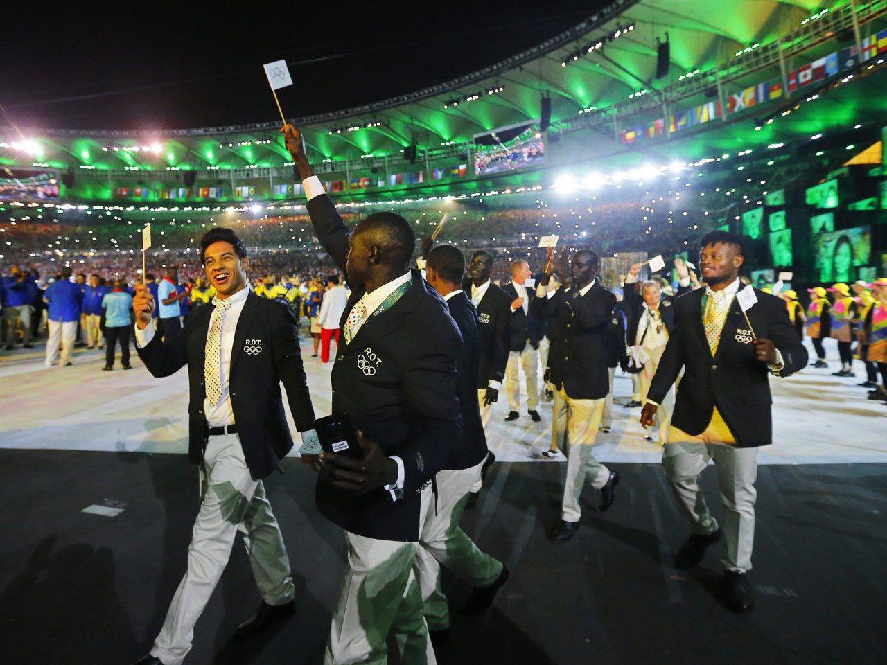 Equipa dos refugiados nos Jogos Olímpicos