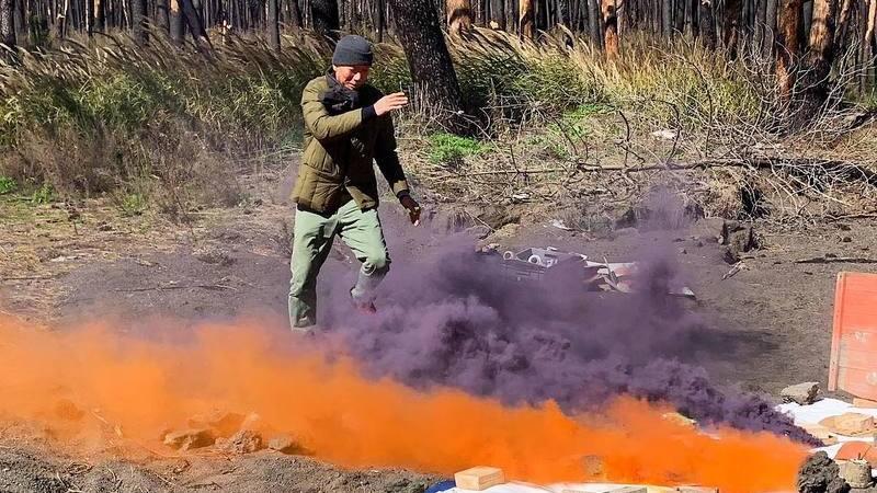 Arte feita a pólvora e fogo. Artista chinês surpreende pelas explosões criativas que faz