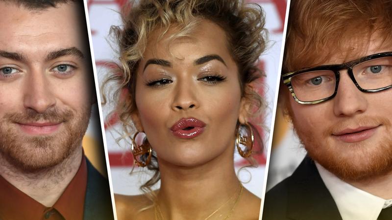 De Sam Smith a Rita Ora: as estrelas na passadeira vermelha dos Brit Awards