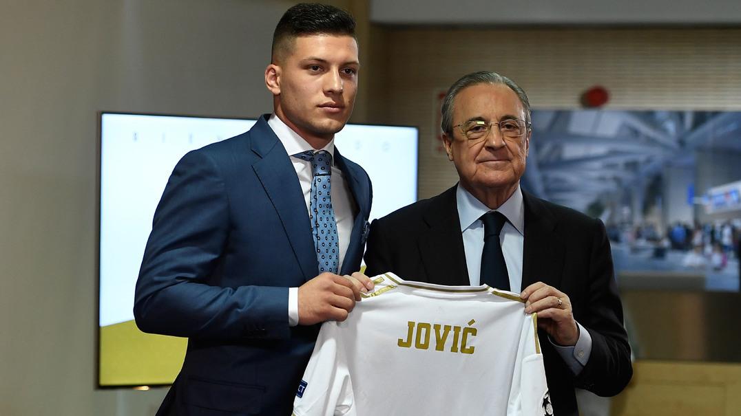 Assim foi a semana: É a loucura em Madrid por Jovic