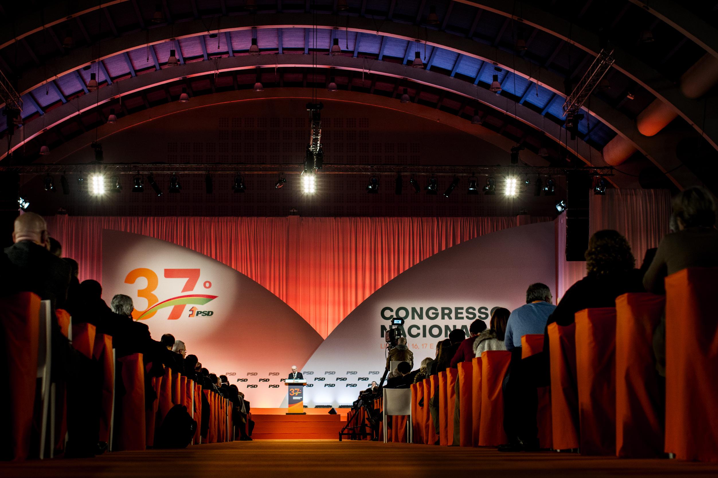 Siga aqui em direto o 37º Congresso do PSD