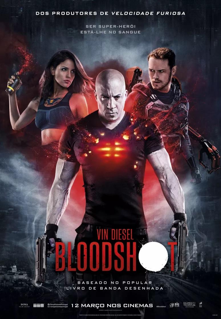 """""""Bloodshot"""": ganhe convites para as antestreias"""