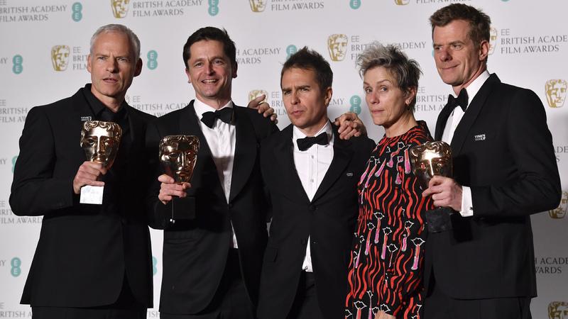 """BAFTA: """"Três Cartazes à Beira da Estrada"""" vence os """"Óscares britânicos"""""""
