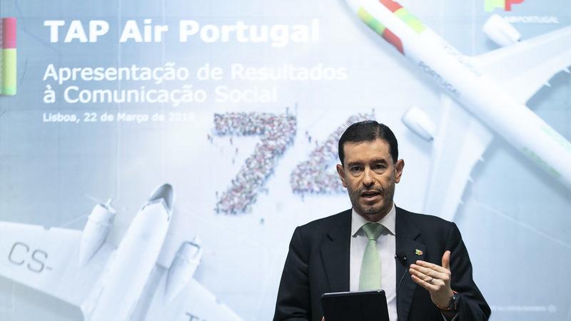 Frasquilho admite que emissão de 375 milhões é bom sinal para entrada da TAP em bolsa