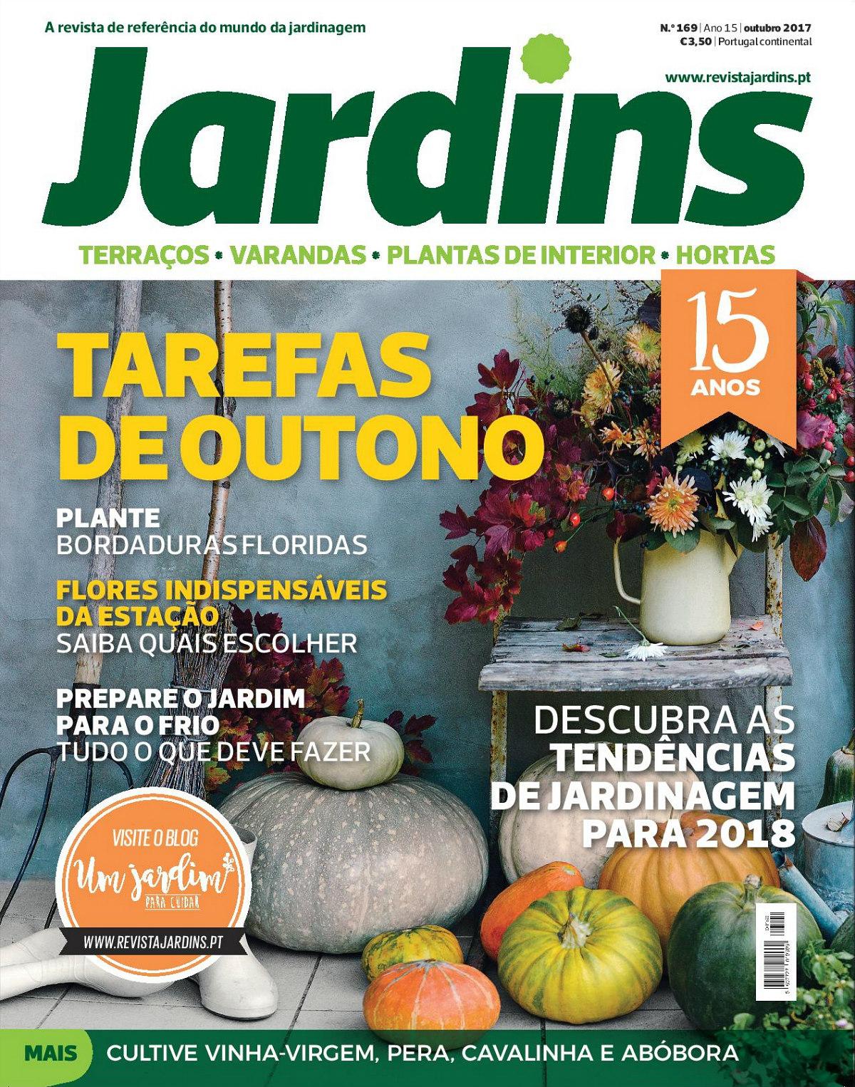 Revista Jardins faz 15 anos